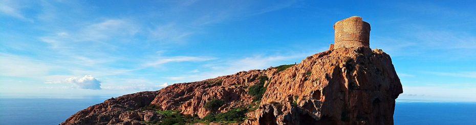 la randonnée de la tour de Capo Rosso