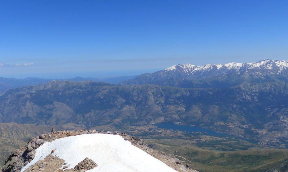 randonnée du Monte Cintu à Lozzi   Corse VTC