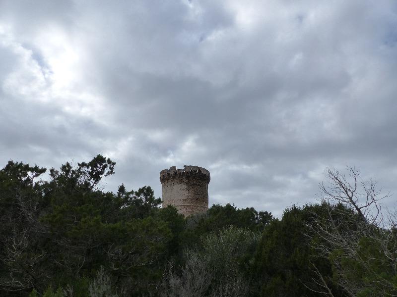 randonnée de la tour de Capu Neru à Coti Chiavari   Corse VTC