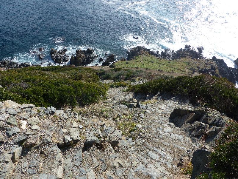 la randonnée du sentier des senteurs à la Parata   Corse VTC
