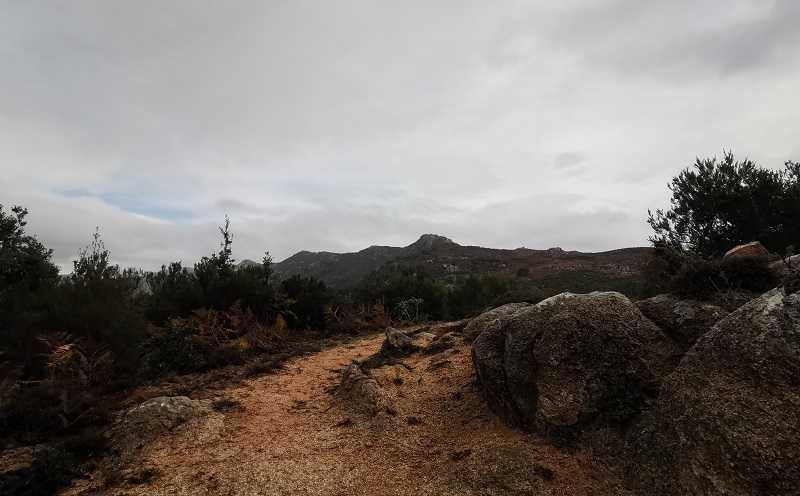 Randonnée de la Punta San Petru Vechju à Cuttoli   Corse VTC