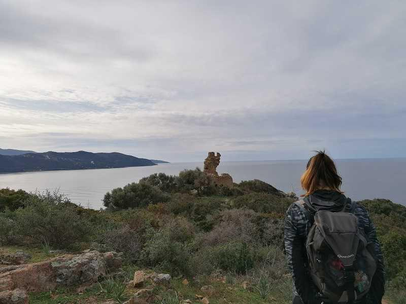La randonnée du Fortin de Capigliolo à Tiuccia | Corse VTC