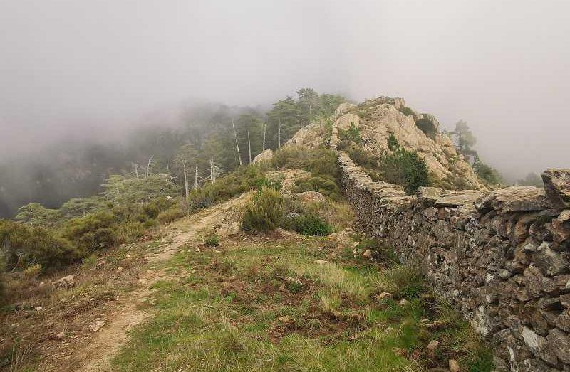 la randonnée du Monte Cervellu à Rosazia | Corse VTC