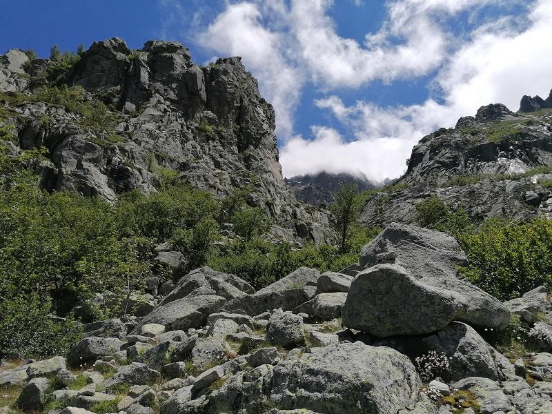 randonnée du grand lac d'Oro par Canaglia   Corse VTC